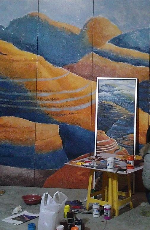家里装饰选择手绘墙的优势