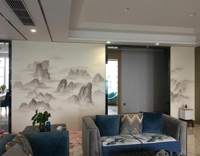 重庆睿思墙绘带你走进纷扰生活中那一抹艺术的宁静