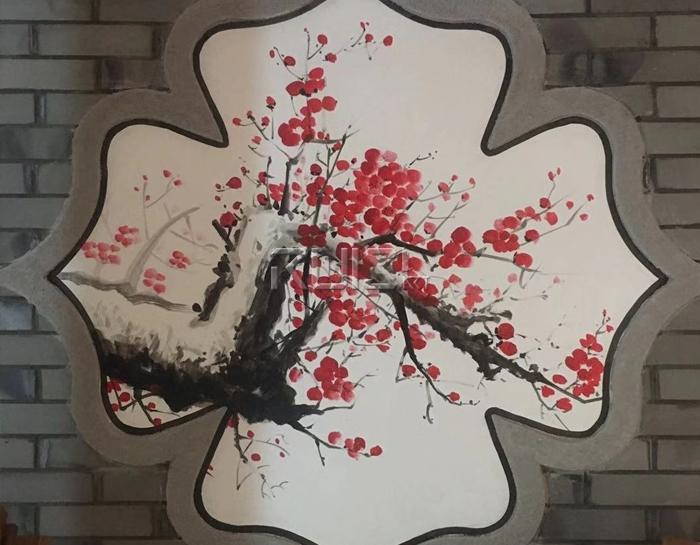 手彩绘墙基本知识和绘制步骤