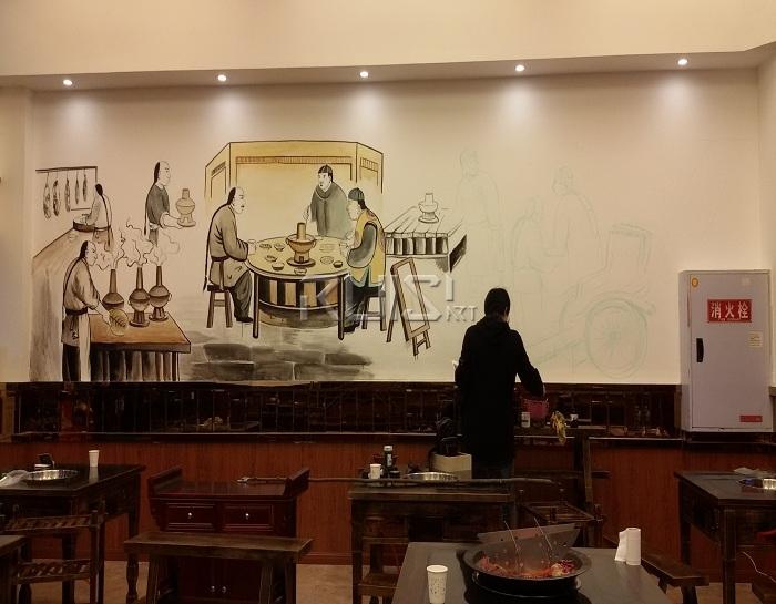 不同手绘墙的适用场景和绘制颜料